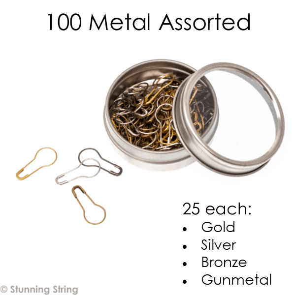 Locking Metal Stitch Markers
