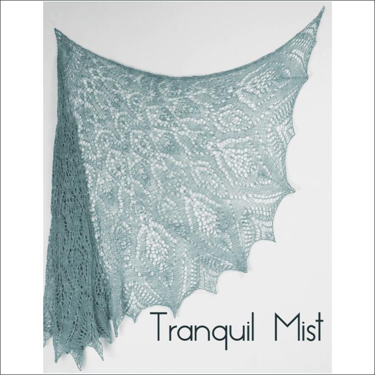Tranquil Mist Lace Shawl Kit