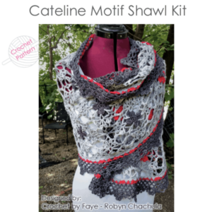 Cateline Motif Shawl Kit