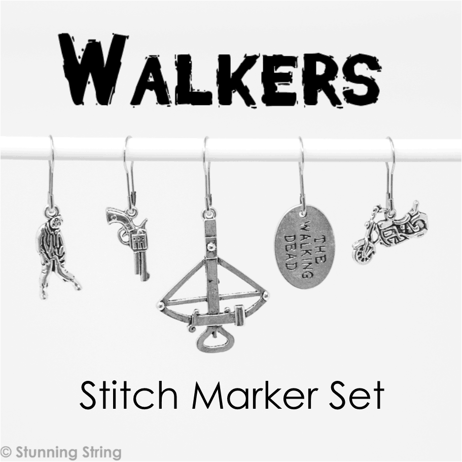 Walkers - Stitch Marker Set