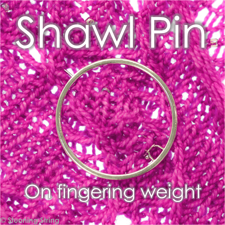Triangle Shawl Pin