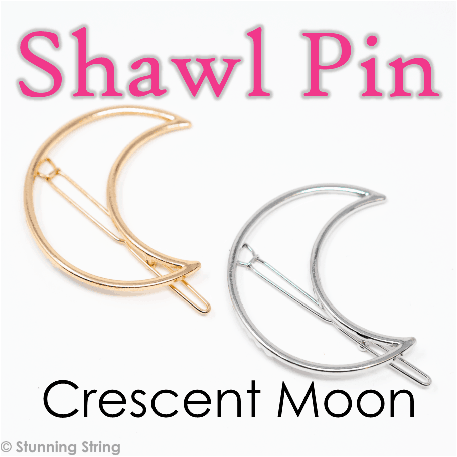 Moon Shawl Pin