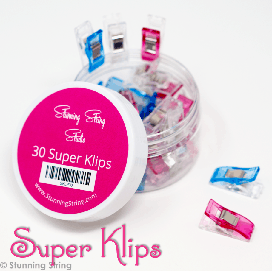 NEW Super Klips 30pc jar