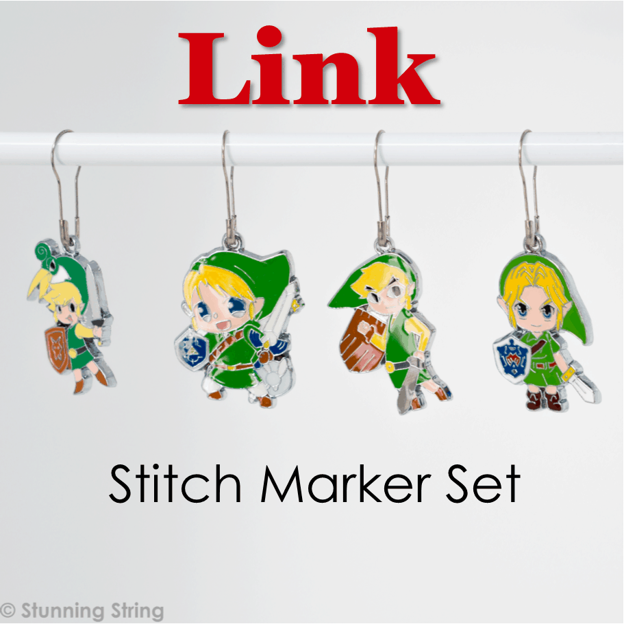 Link - Stitch Marker Set