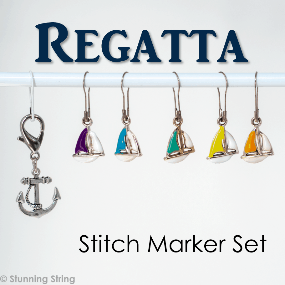 Regatta - Stitch Marker Set