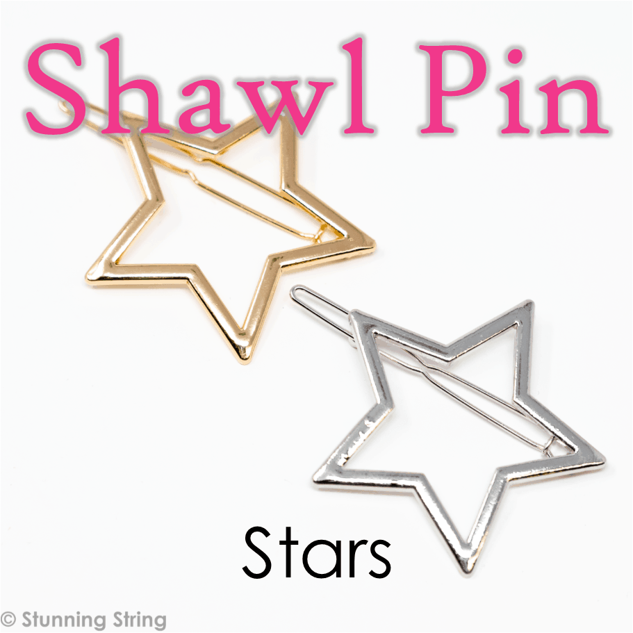 Star Shawl Pin