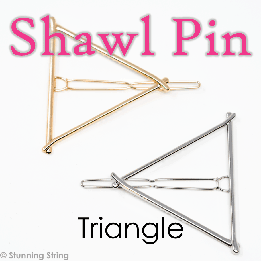 Triangle Shawl Pin