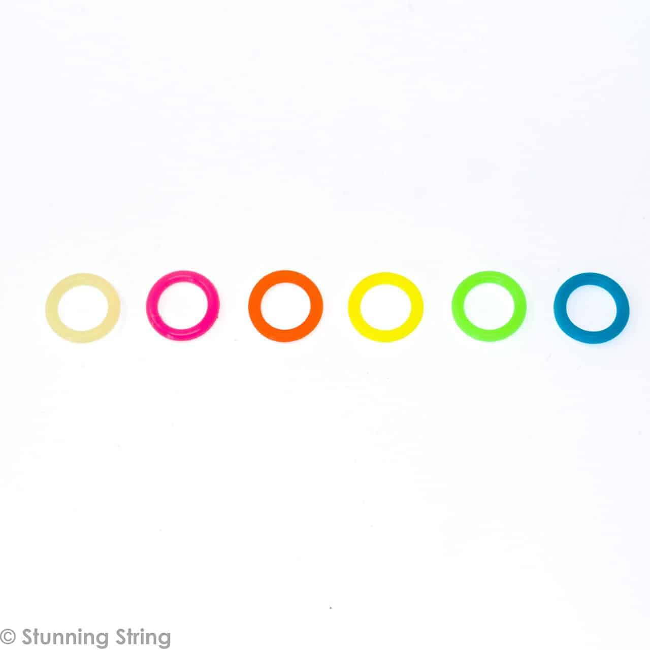 Silicone Ring Stitch Marker Assortment