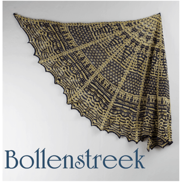 Bollenstreek Shawl Kit