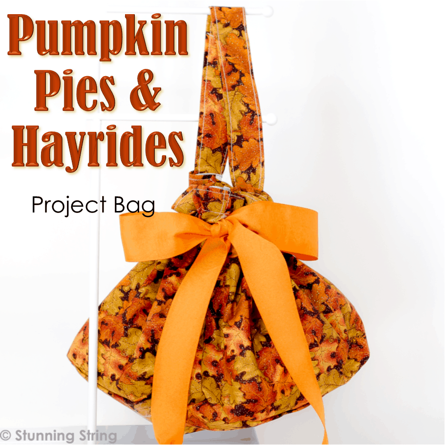 Pumpkin Pies & Hayrides Project Bag