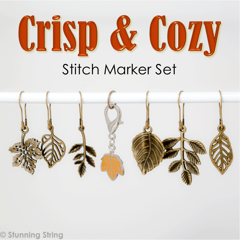 Crisp & Cozy Stitch Marker Set