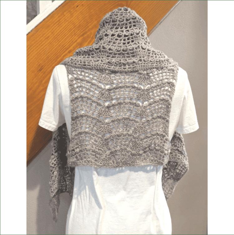 Falls Ravine Vest Crochet Kit