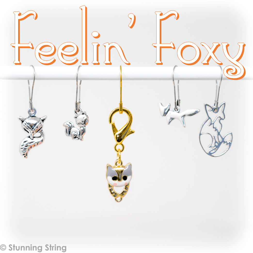 Feelin' Foxy Stitch Marker Set