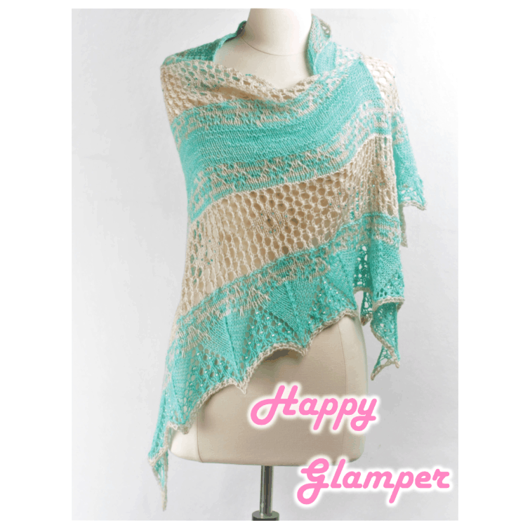 Happy Glamper Shawl Kit