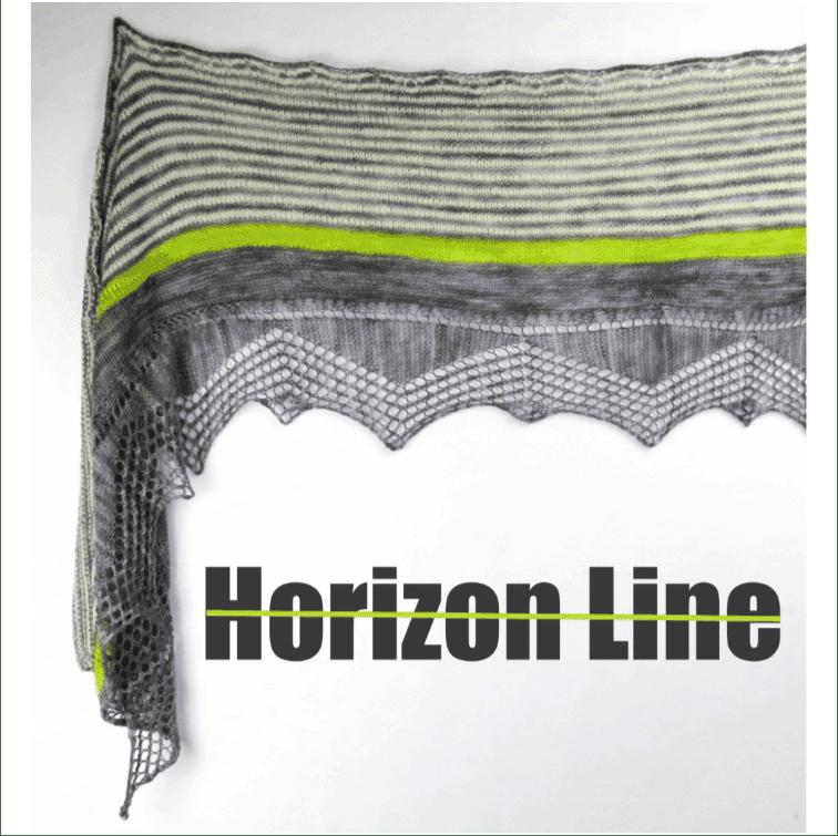 Horizon Line Shawl Kit