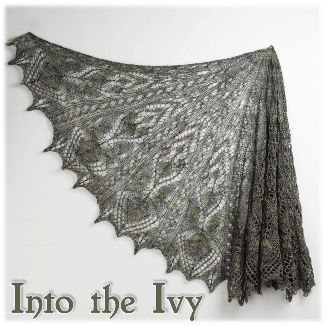 Into the Ivy Shawl Kit