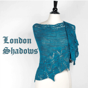 London Shadows Shawl Kit