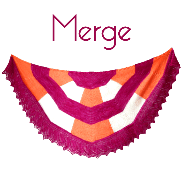 Merge Shawl Kit