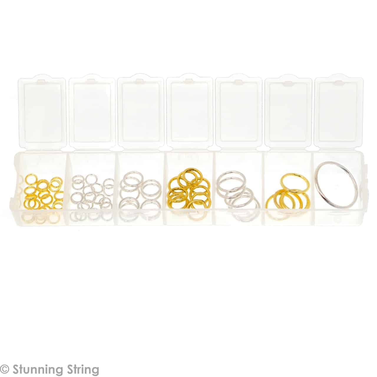 Assortment Metal Ring Stitch Markers