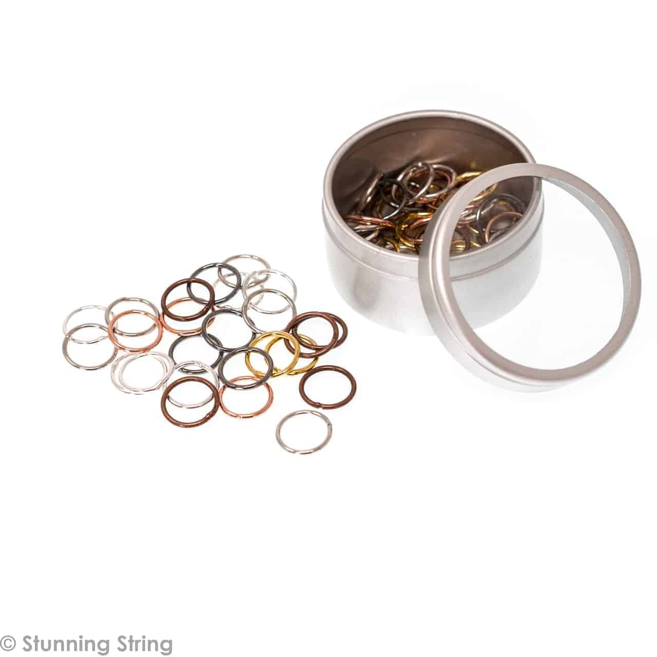 Medium Metal Ring Stitch Markers