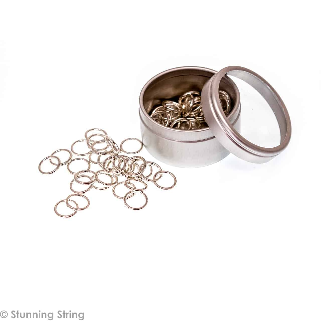 Medium Metal Ring Stitch Markers