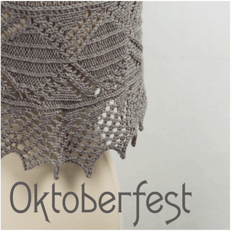 Oktoberfest Shawl Kit