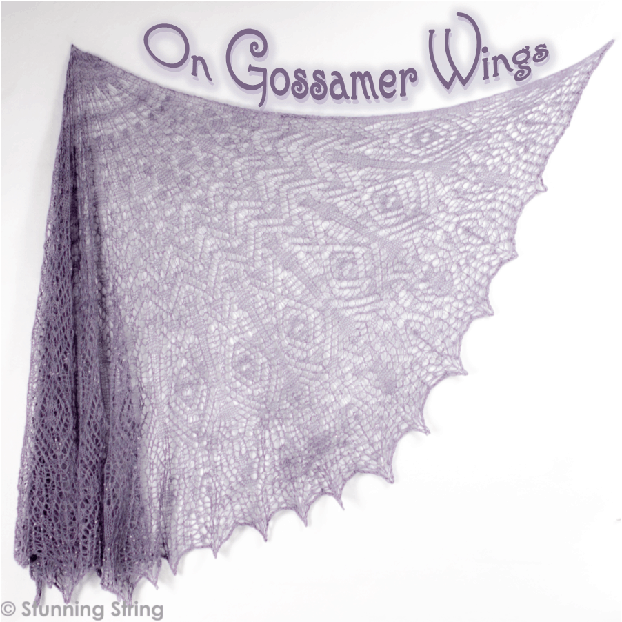 On Gossamer Wings Yarn or Deluxe Kit