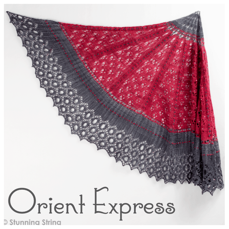 Orient Express Shawl Kit