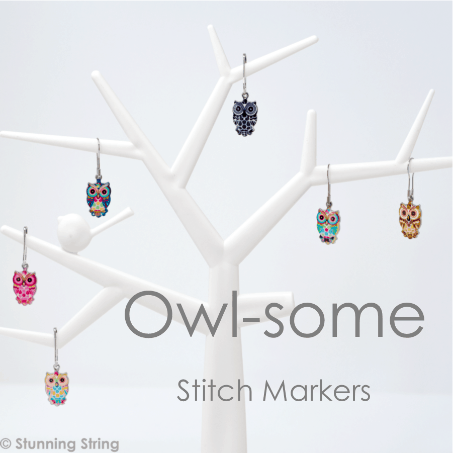 Owl Stitch Marker Set