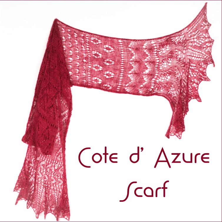 Cote d' Azure Scarf Kit