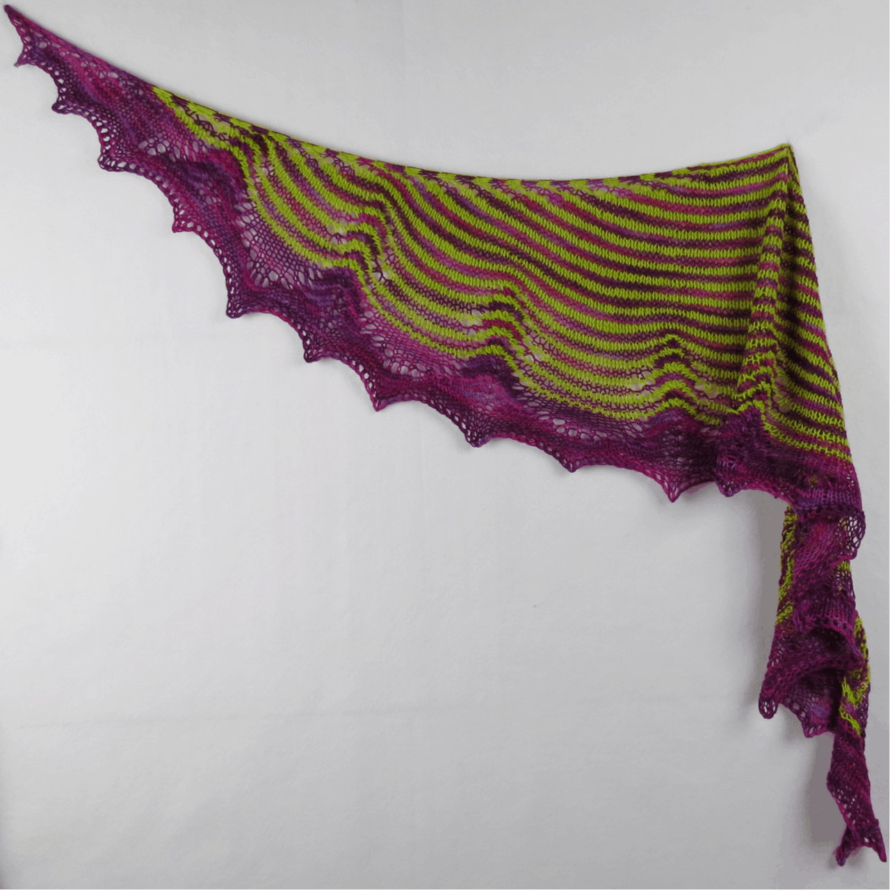 Purple Allium Shawl Kit
