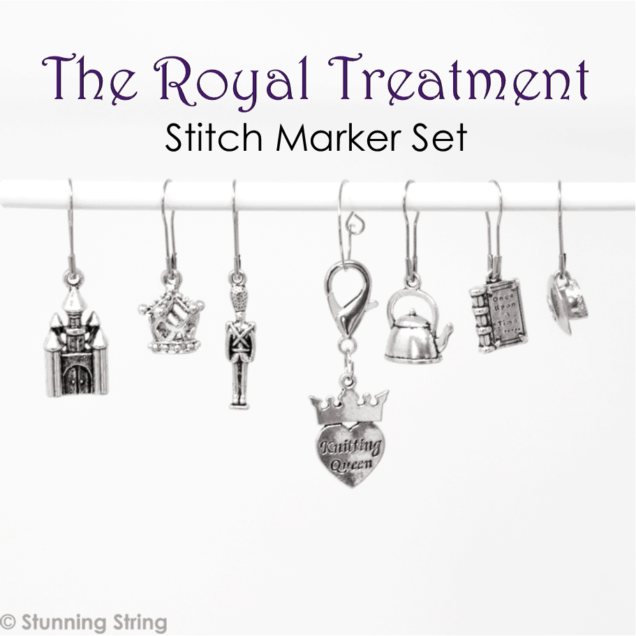 Royal Treatment Stitch Marker Set