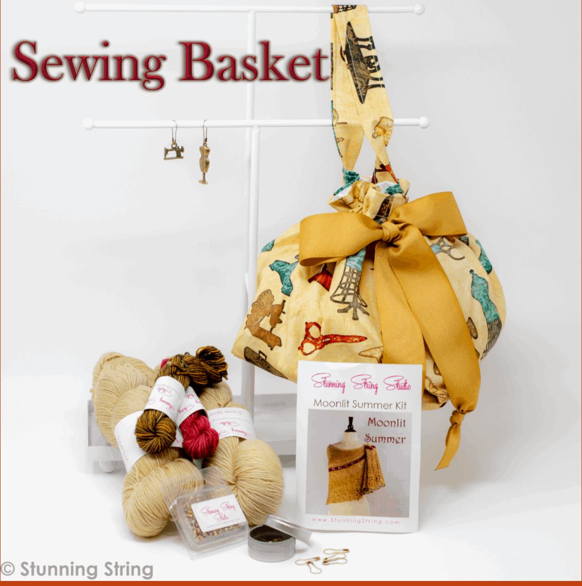 Sewing Basket Small Batch Kit