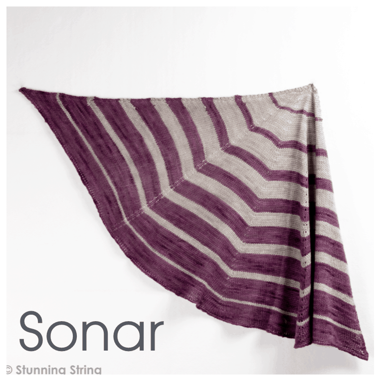 Sonar Fingering Weight Shawl Kit
