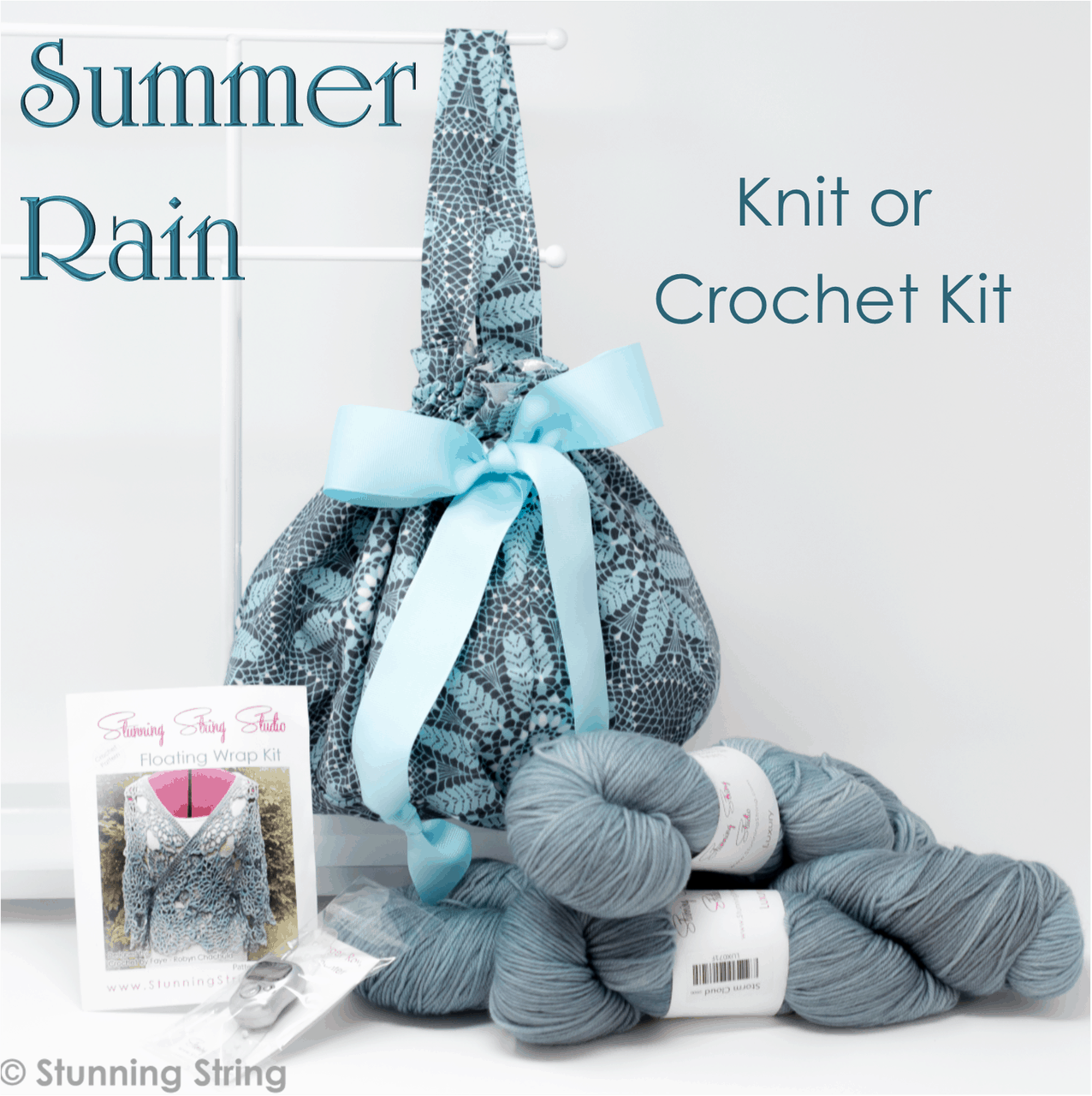Summer Rain knit or crochet Small Batch Kit