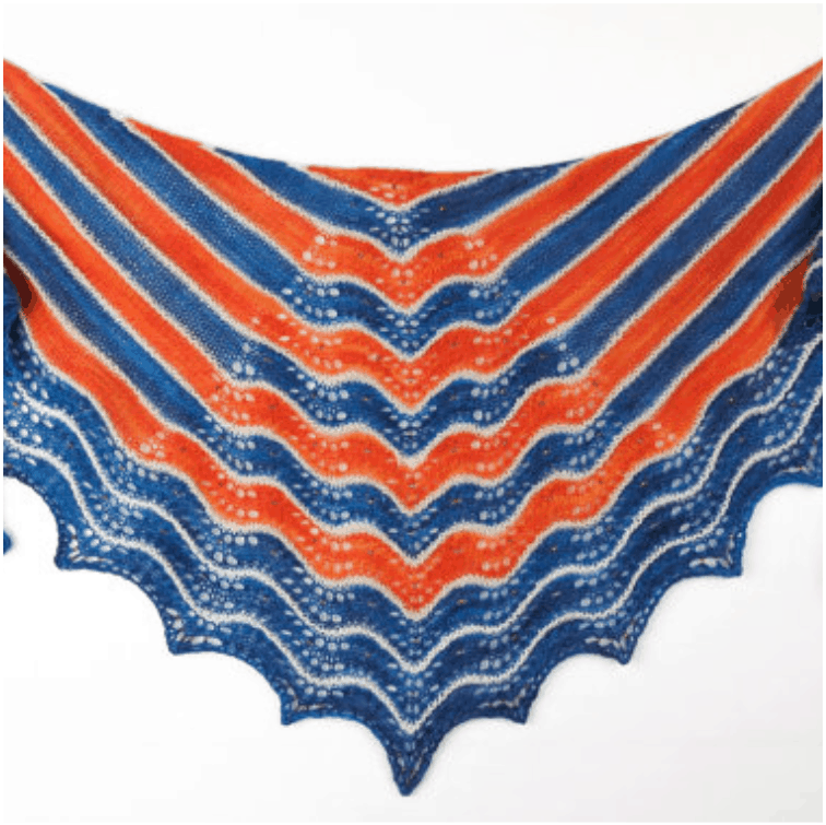 Sunset Bay Shawl Kit