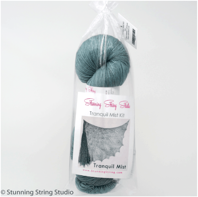 Tranquil Mist Lace Shawl Kit