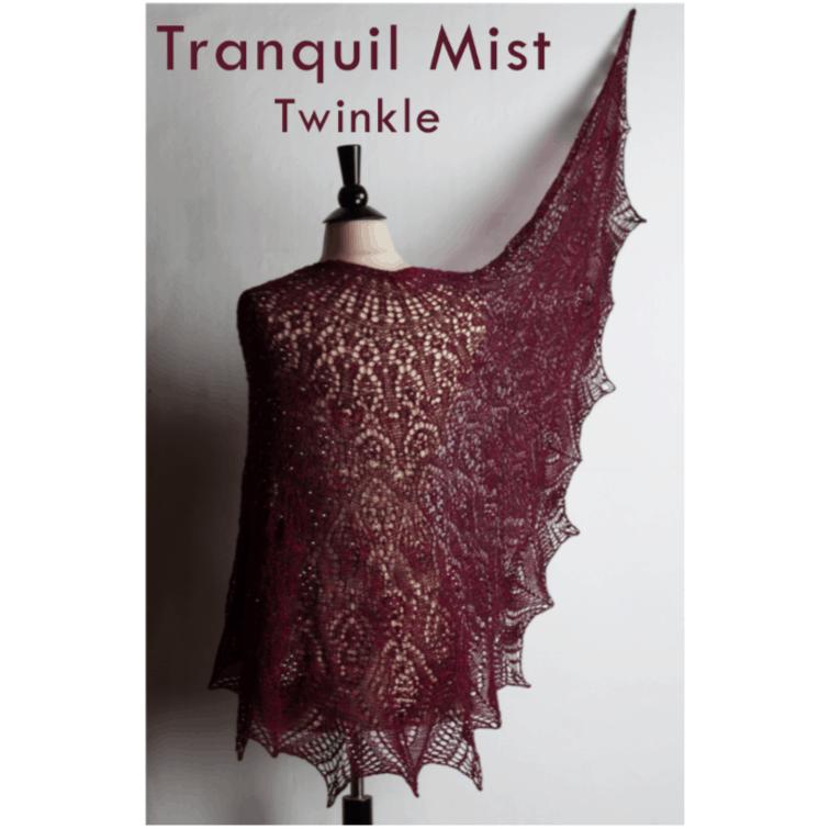 Tranquil Mist Twinkle Shawl Kit