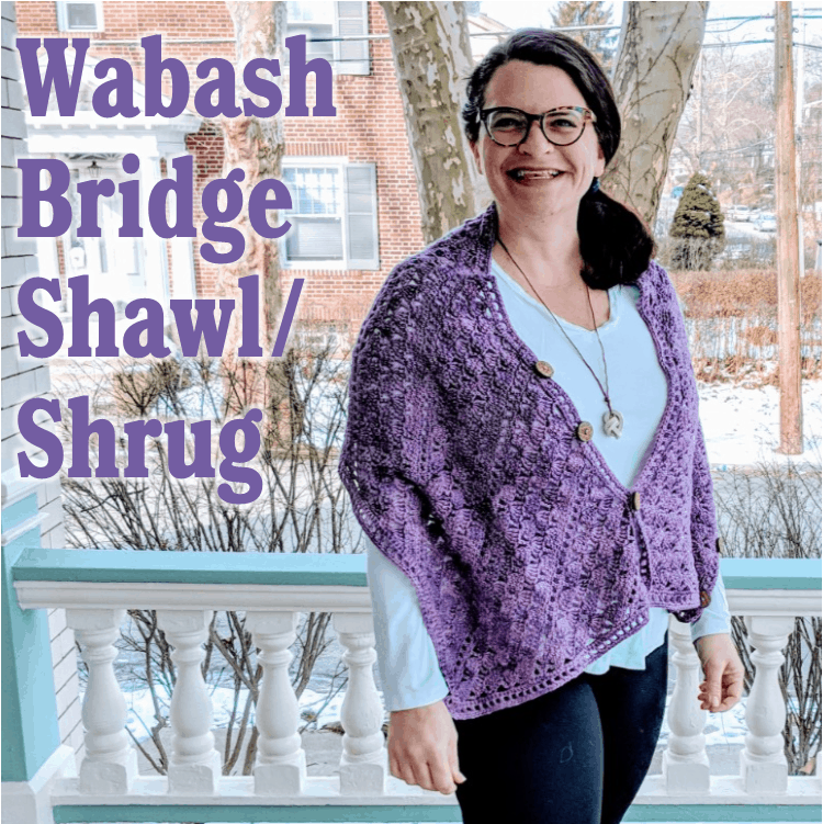 Wabash Bridge Convertible Shawl