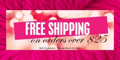 25 free shipping